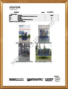 TRAMPOLINE B-EN71-14-2018