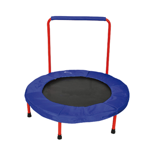 Mini trampoline with handle 003