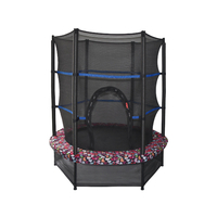 Mini trampoline with enclosure B