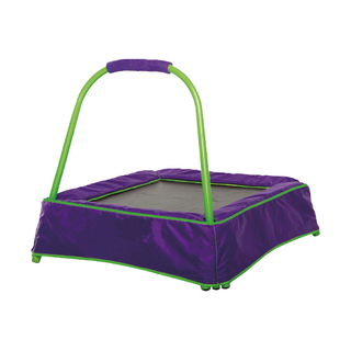 Mini trampoline with handle 004